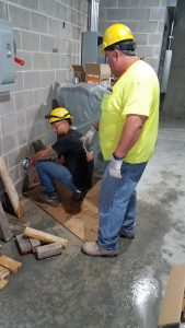 Electricians Work Lake County Administration Building