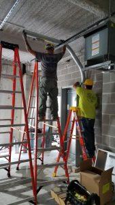 Electricians Work